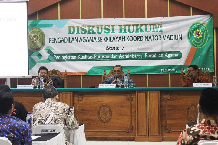 Diskusi Hukum Se Koordinator Madiun